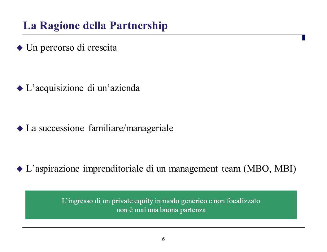 La Ragione della Partnership