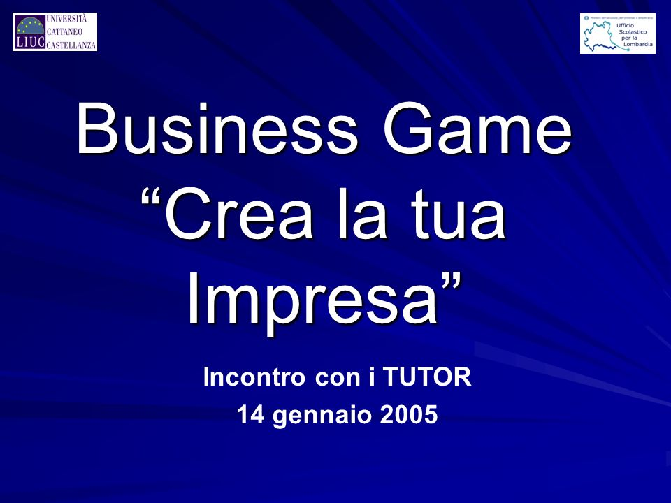 Business Game Crea la tua Impresa