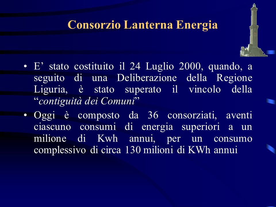 Consorzio Lanterna Energia