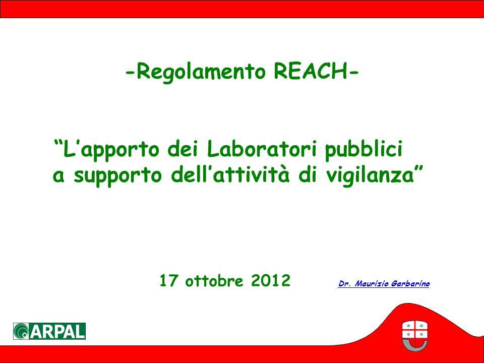 L'apporto dei Laboratori pubblici