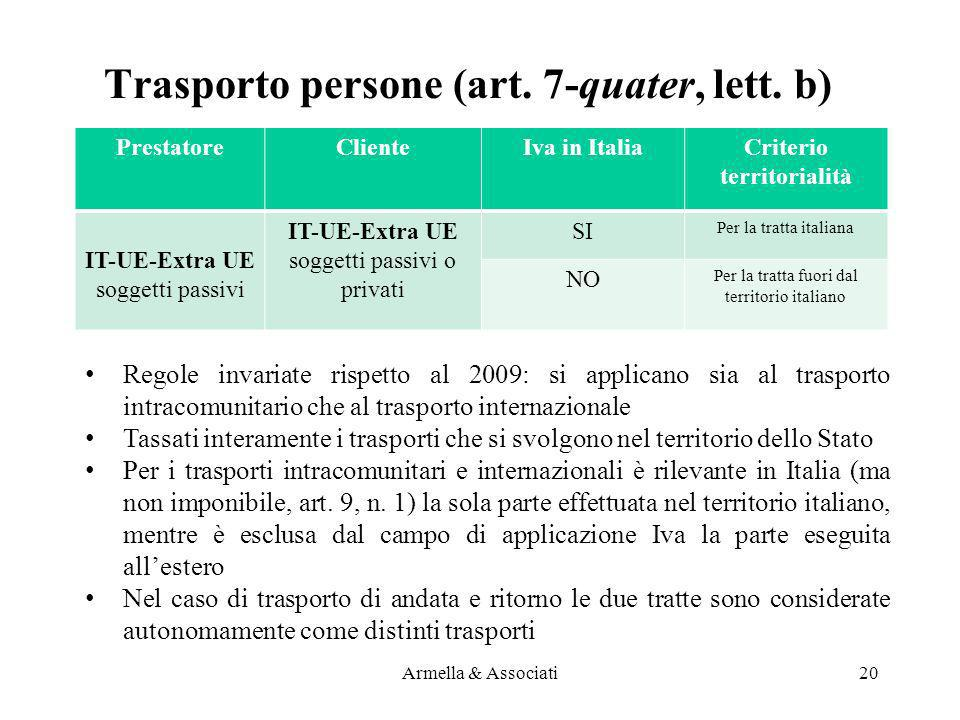 Trasporto persone (art. 7-quater, lett. b)