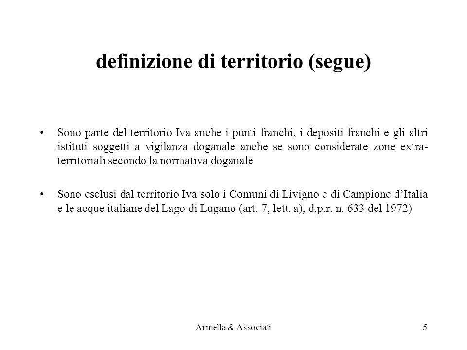 definizione di territorio (segue)