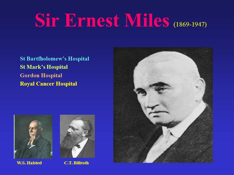 Sir Ernest Miles (1869-1947) St Bartfholomew's Hospital