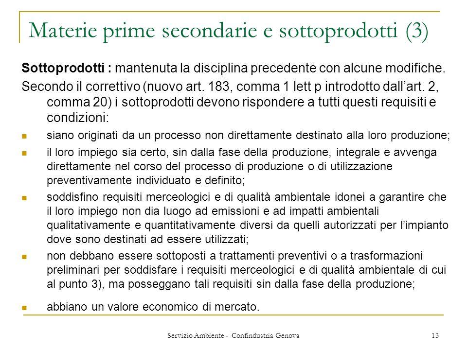 Materie prime secondarie e sottoprodotti (3)