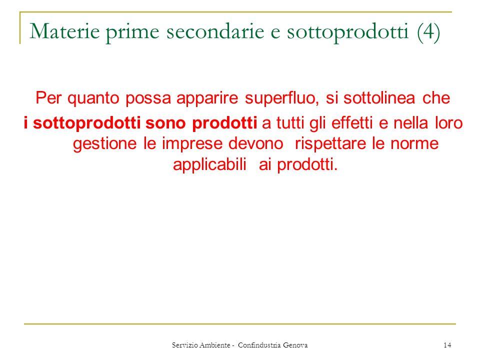 Materie prime secondarie e sottoprodotti (4)