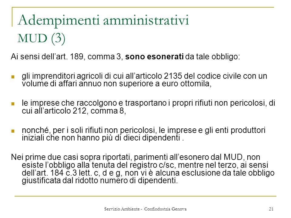 Adempimenti amministrativi MUD (3)
