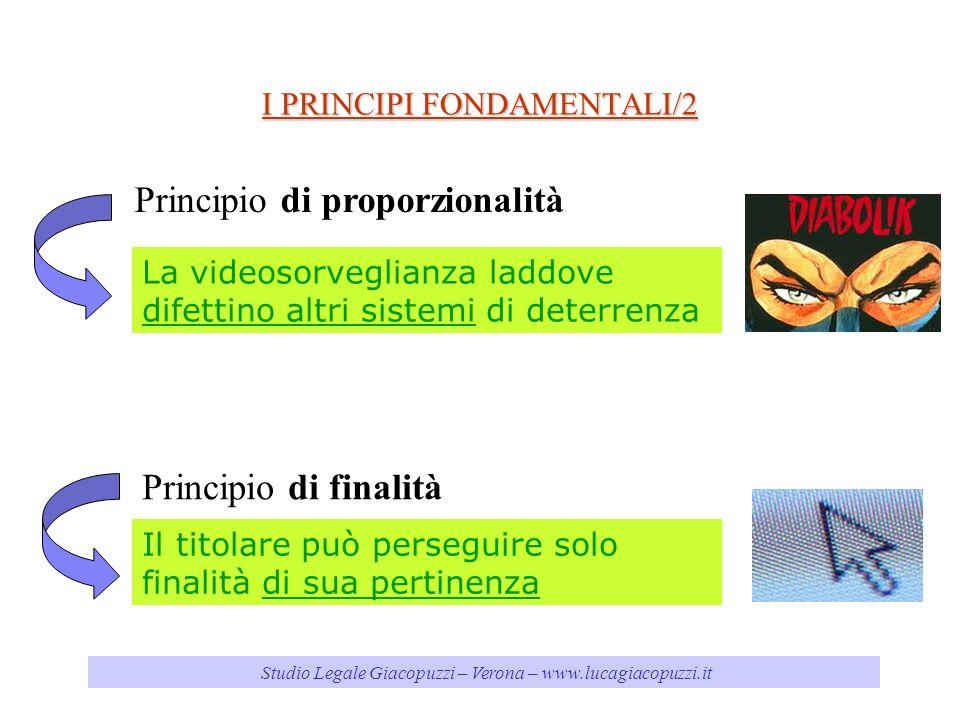 I PRINCIPI FONDAMENTALI/2