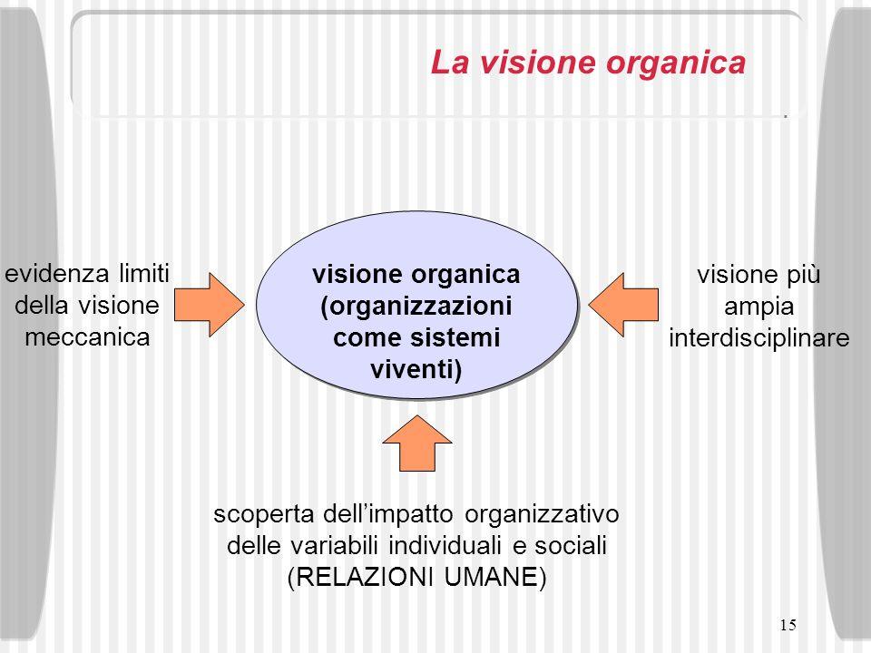 visione organica (organizzazioni