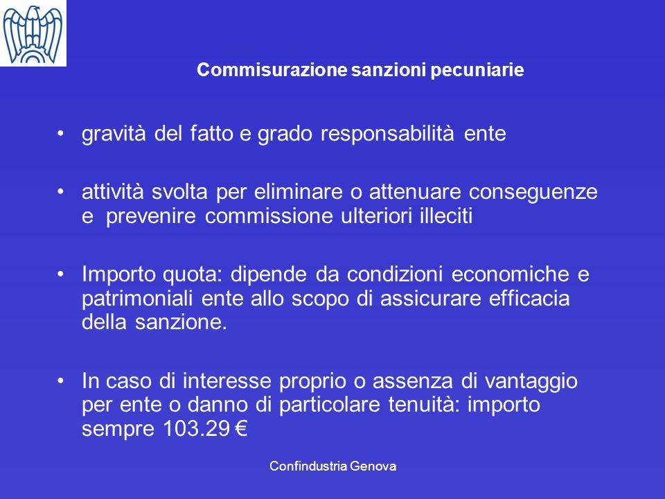 Commisurazione sanzioni pecuniarie