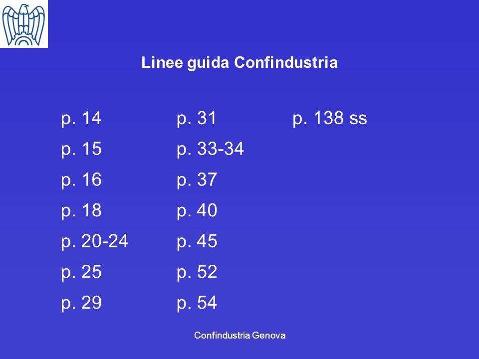 Linee guida Confindustria
