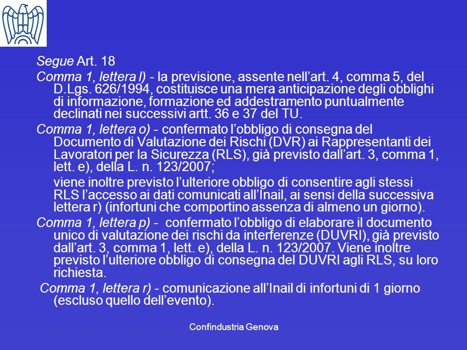 Segue Art. 18
