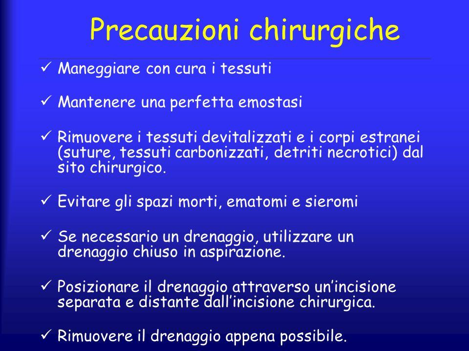 Precauzioni chirurgiche