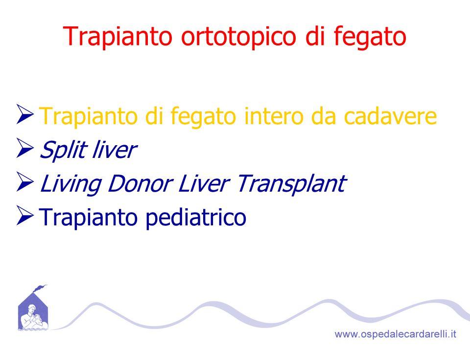 Trapianto ortotopico di fegato