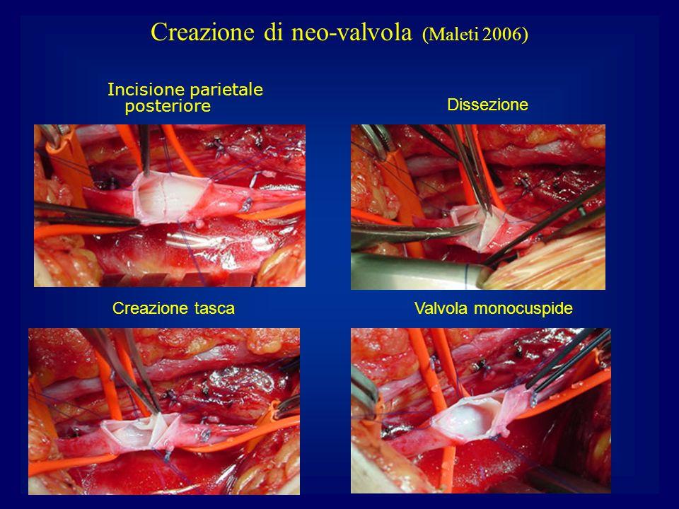 Creazione di neo-valvola (Maleti 2006)