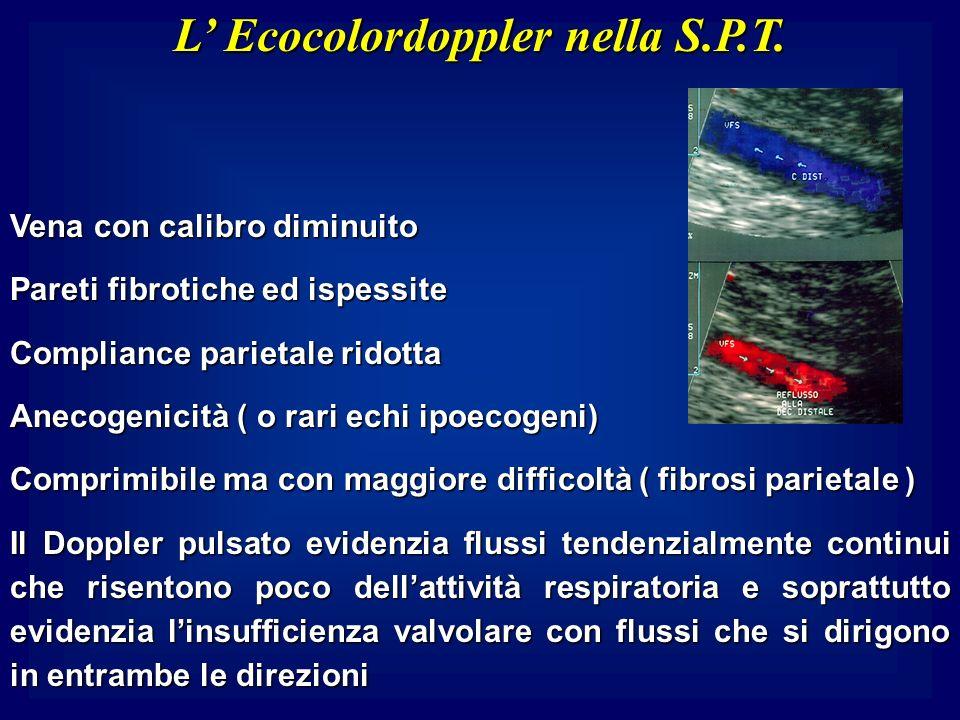 L' Ecocolordoppler nella S.P.T.
