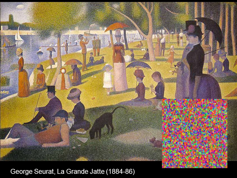 George Seurat, La Grande Jatte (1884-86)
