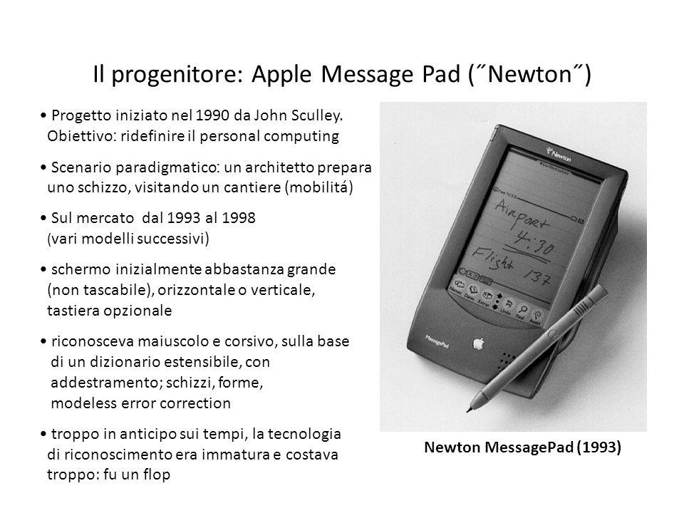 Il progenitore: Apple Message Pad (˝Newton˝)