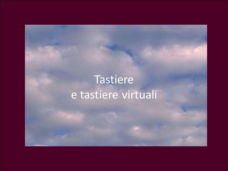 Tastiere e tastiere virtuali