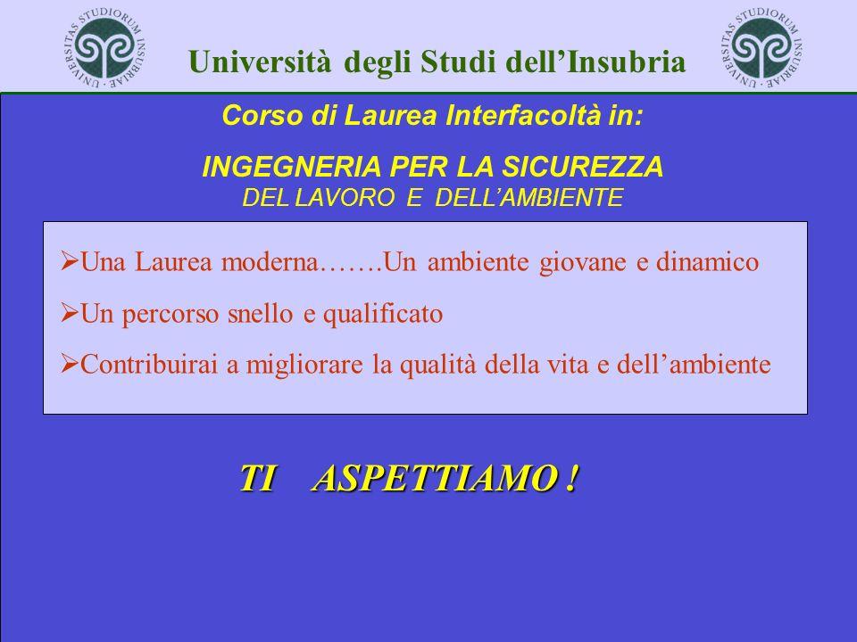Corso di Laurea Interfacoltà in: