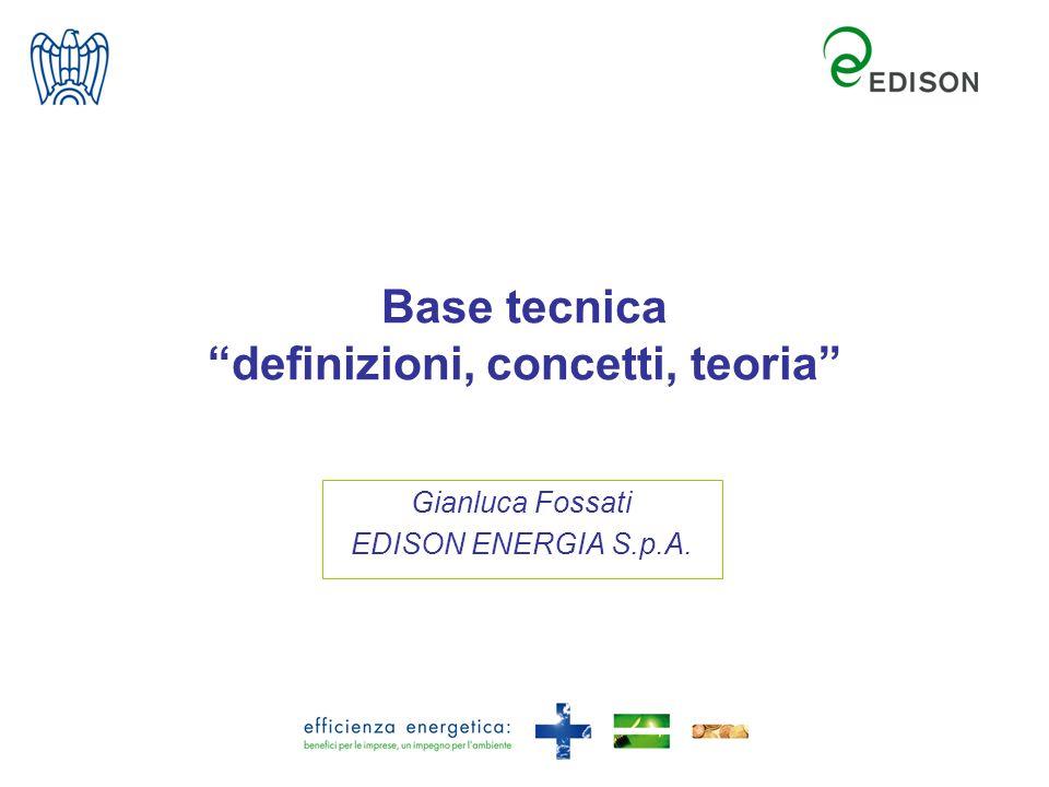 Base tecnica definizioni, concetti, teoria