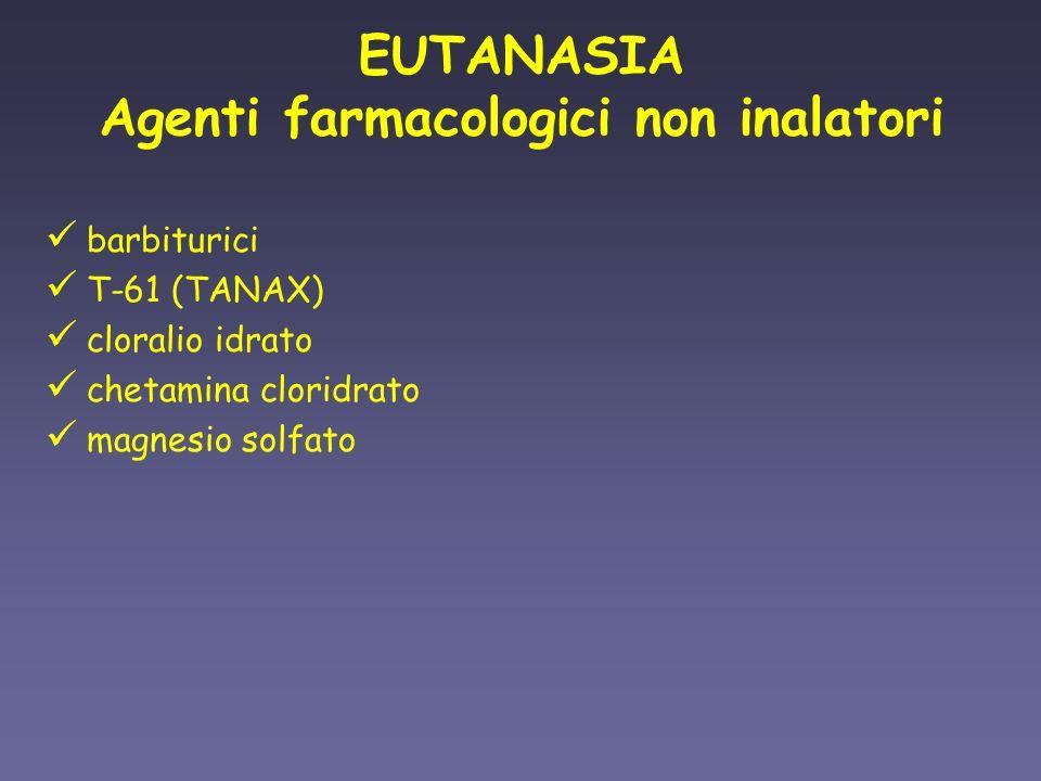 Agenti farmacologici non inalatori