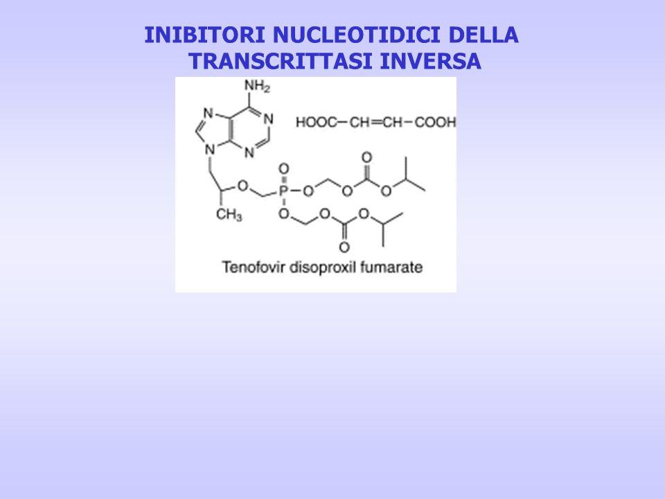 INIBITORI NUCLEOTIDICI DELLA TRANSCRITTASI INVERSA