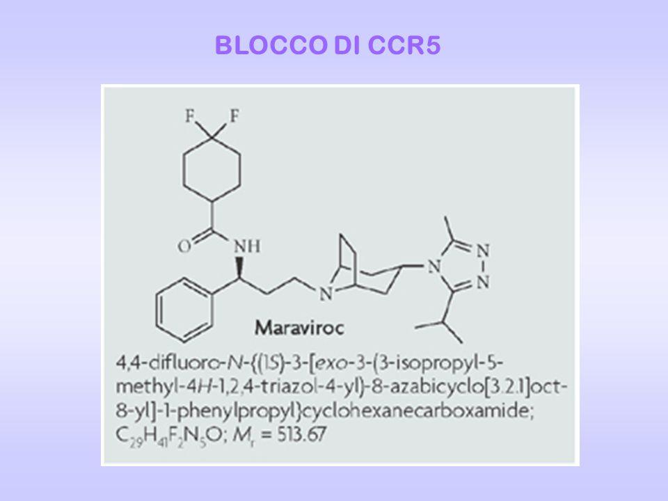 BLOCCO DI CCR5