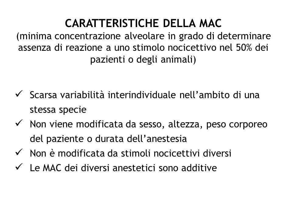 CARATTERISTICHE DELLA MAC