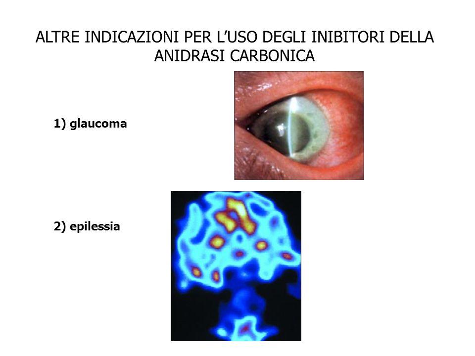 ALTRE INDICAZIONI PER L'USO DEGLI INIBITORI DELLA ANIDRASI CARBONICA
