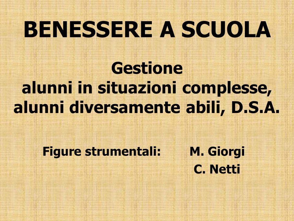 Figure strumentali: M. Giorgi C. Netti