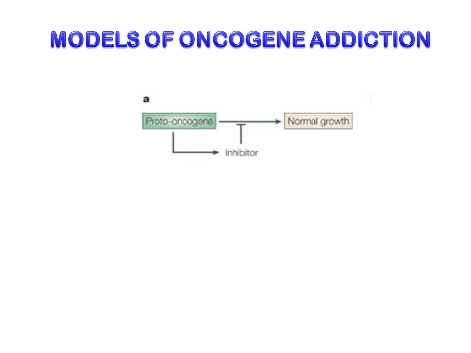 MODELS OF ONCOGENE ADDICTION