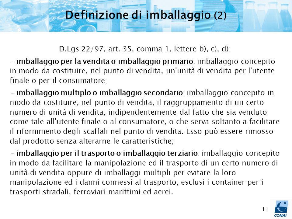 Definizione di imballaggio (2)