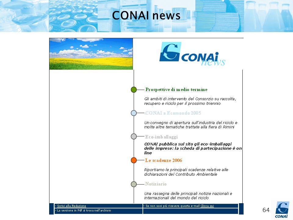 CONAI news