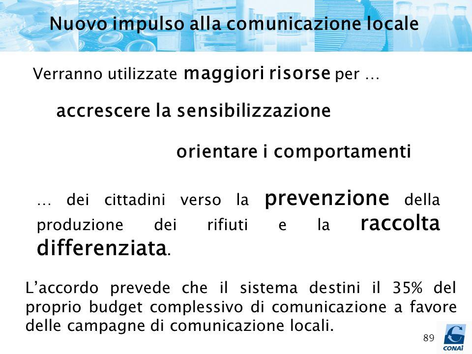 Nuovo impulso alla comunicazione locale