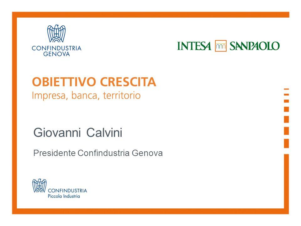 Giovanni Calvini Presidente Confindustria Genova