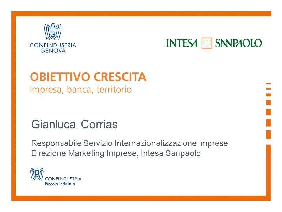 Gianluca Corrias Responsabile Servizio Internazionalizzazione Imprese