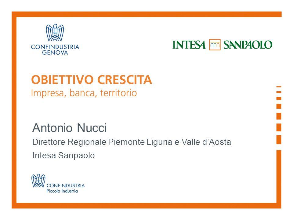 Antonio Nucci Direttore Regionale Piemonte Liguria e Valle d'Aosta Intesa Sanpaolo