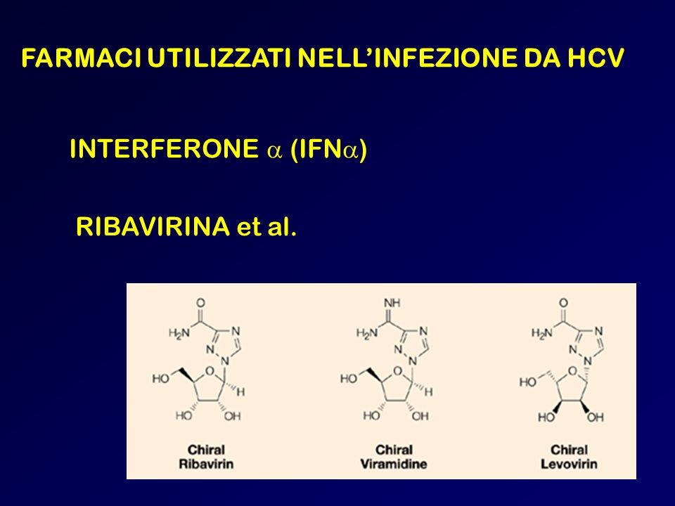 FARMACI UTILIZZATI NELL'INFEZIONE DA HCV
