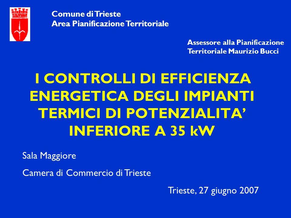 Camera di Commercio di Trieste Trieste, 27 giugno 2007