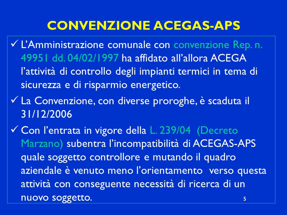 CONVENZIONE ACEGAS-APS