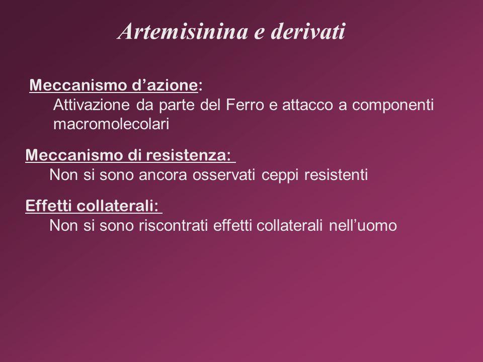 Artemisinina e derivati