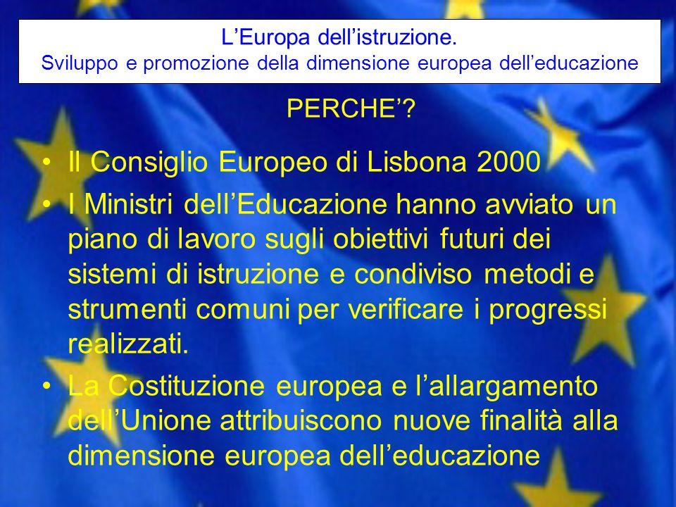 Il Consiglio Europeo di Lisbona 2000
