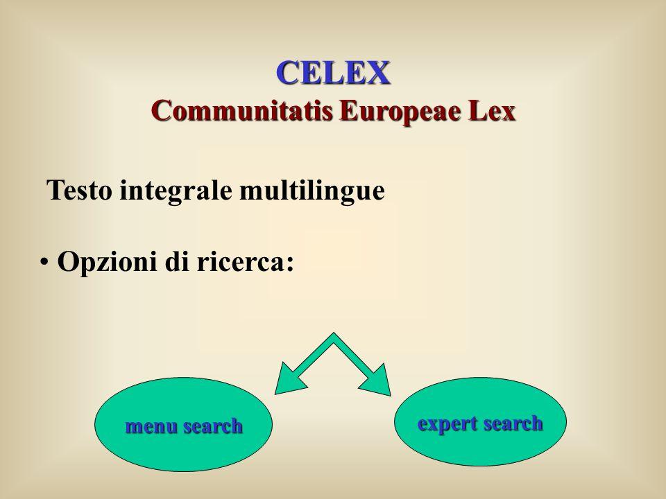 Communitatis Europeae Lex