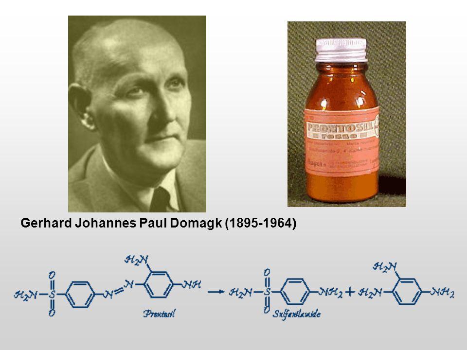 Gerhard Johannes Paul Domagk (1895-1964)