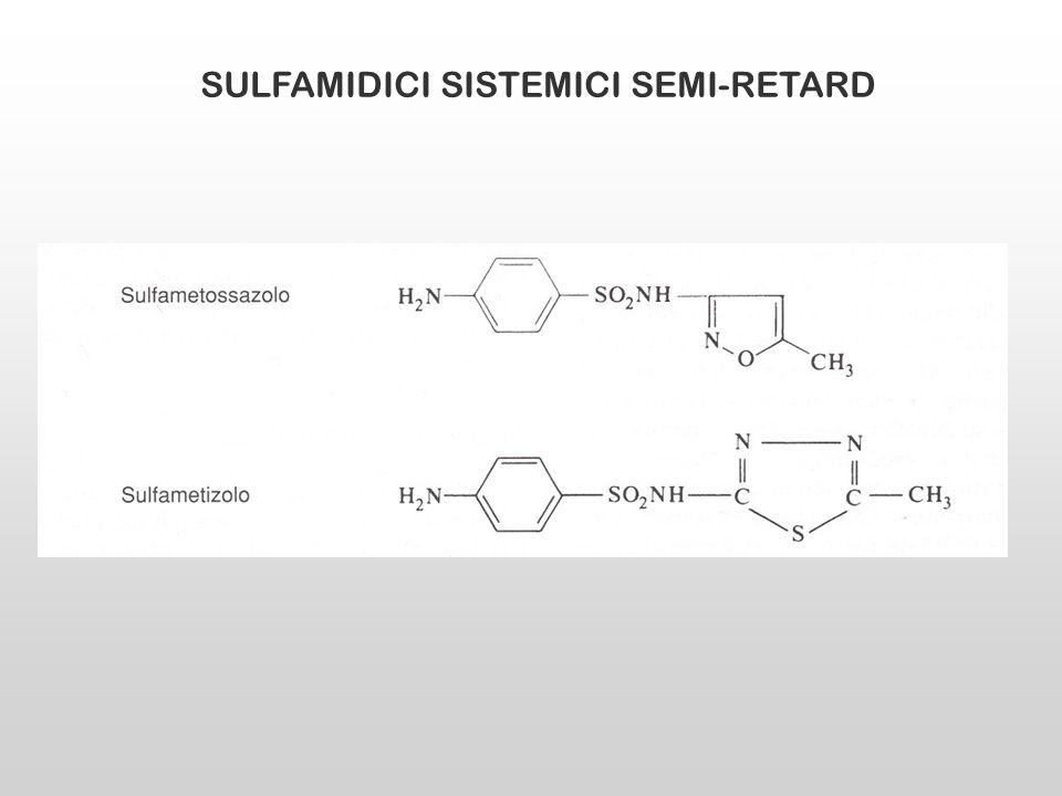 SULFAMIDICI SISTEMICI SEMI-RETARD
