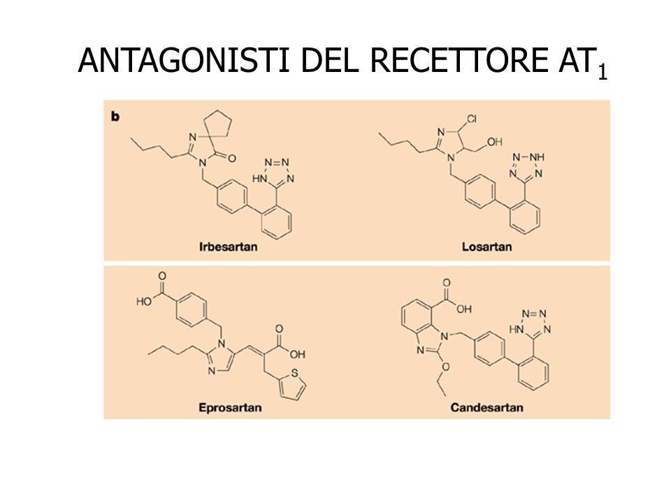 ANTAGONISTI DEL RECETTORE AT1