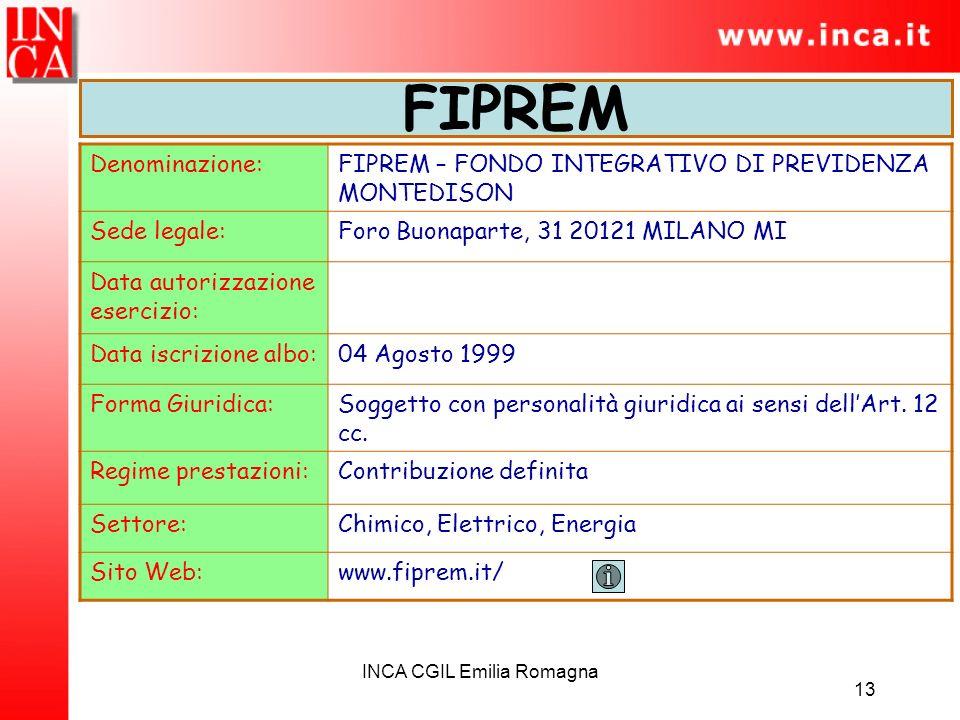 INCA CGIL Emilia Romagna