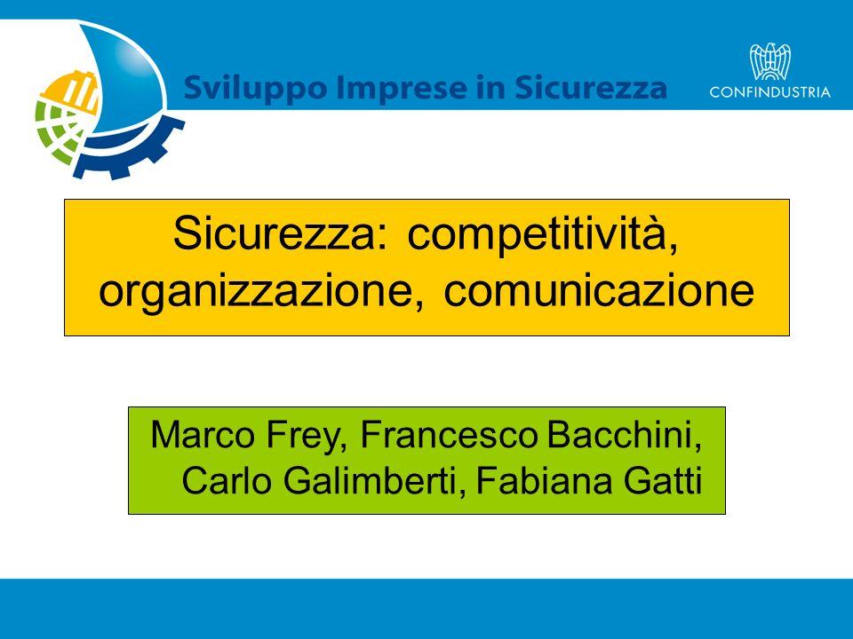 Sicurezza: competitività, organizzazione, comunicazione