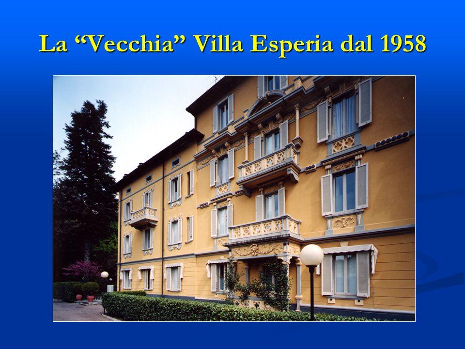 La Vecchia Villa Esperia dal 1958