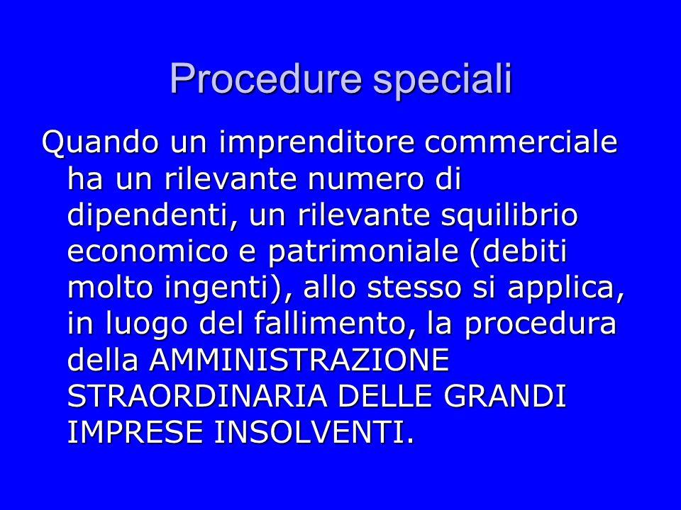 Procedure speciali